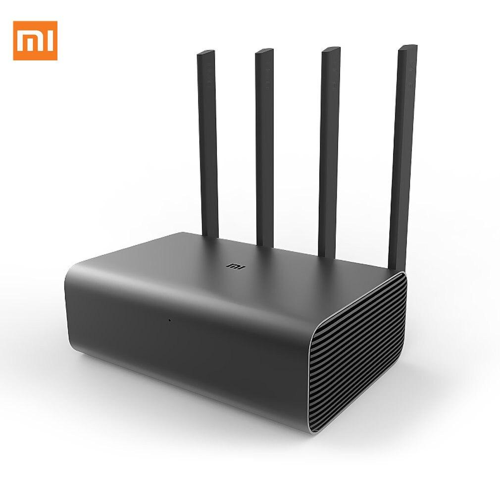 Routeur Xiao mi mi Pro R3P 1733Mbps Wi-Fi Wi-Fi routeur Wifi sans fil intelligent 4 antennes double bande 2.4Ghz 5.0Ghz dispositif réseau Wifi