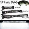 6D объектив высокого Мощность 60W 120W 180W светодиодный рабочий светильник бар Offroad светодиодный рабочий светильник 12V 24V светодиодный бар для 4X4 ...