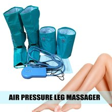 Circulation Leg Wraps Foot Calf Massager Massage Air Pressure Compression Ankle Air Compression Leg Massager hanriver 2018 220 v heating old leg massager crus hot compress foot massager automatic air wave pressure therapy