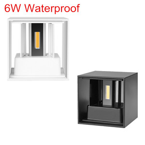 IP65 LED waterproof wall lamps 6W 12W indoor and outdoor adjustable wall light courtyard porch corridor bedroom wall sconce