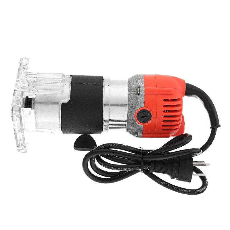 220V 800W 30000RPM électrique main routeur tondeuse bois 6.35mm 0.25 pouces tondeuse électrique routeur menuisiers outils électriques pour boiseries - 3