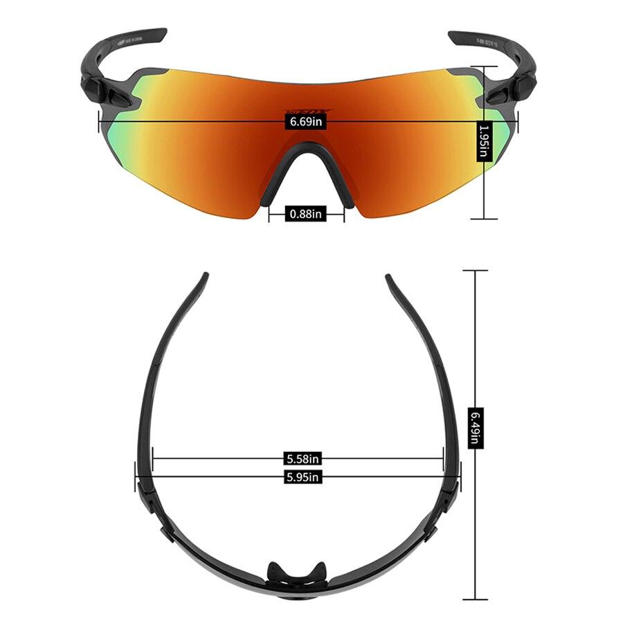 Купить спортивные мужские велосипедные солнцезащитные очки batfox с