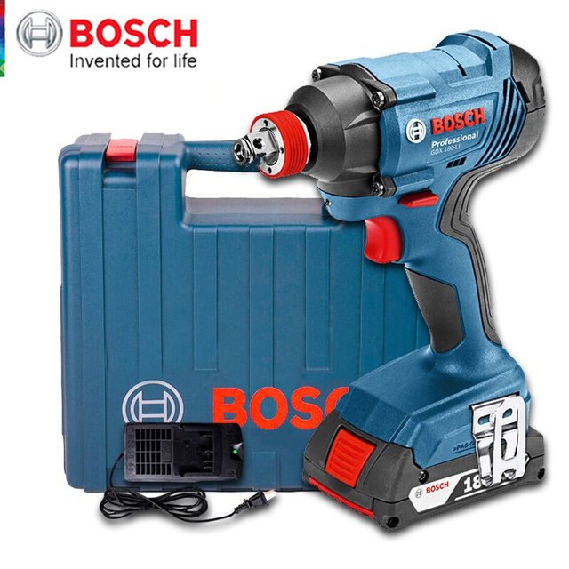 Bosch Original 18V Cordless Electric Impact Wrench Driver Socket Wrench Lithium Battery Hand Drill Installation Power Tools 1