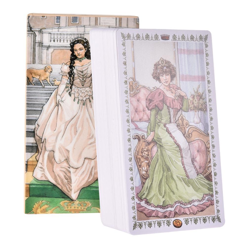78 Tarot Card Romantic Tarot Card Full English Tarot Card Mysterious Prophecy Tarot Card Family Party Card Game Board Game Card
