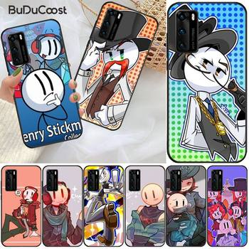 The Henry Stickmin Collection Phone Case For Huawei P9 10 20 30 40 P Smart 20lite 2019 P30 Lite Pro P9 Lite 2017 image