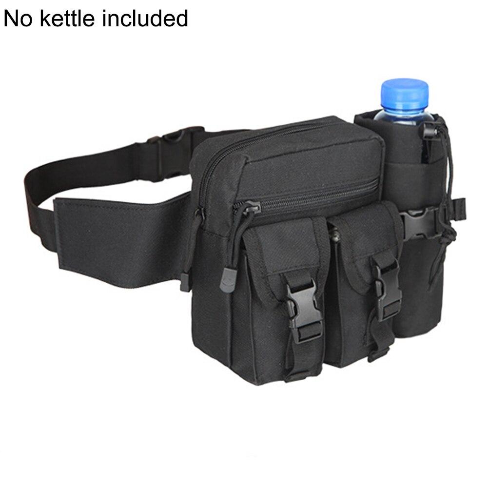 Men Waist Bag Tactical Waist Pack Pouch With Water Bottle Holder Waterproof 800D Nylon Belt Bum Bag Waist Bag