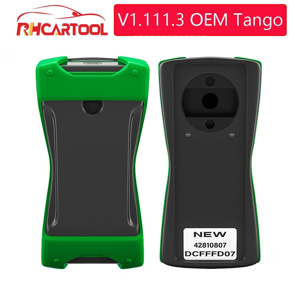 Программатор для ключей OBD2 TANGO OEM Orange 5 OBD II, полная версия V1.111.3, транспондер для автомобильных ключей Tango OBDII, сканер для копирования с дистанц...