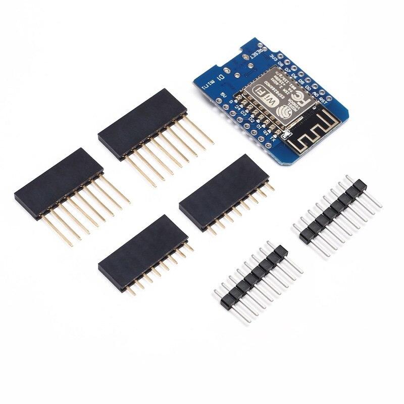 D1 Mini ESP8266 ESP-12 ESP-12F CH340G CH340 V2 USB WeMos Wi-Fi макетная плата D1 Mini NodeMCU Lua IOT плата 3,3 В со штырьками