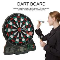 Automatic Scoring Dartboard Professional Electronic Dart Board Office Party Bar Games Entertainment Tool Soft Darts Target Board