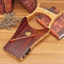 Новая IRIN 10 струнная деревянная цветная арфа древность китайский стиль портативная Лира арфа Лира Instrumento музыкальные Струнные инструменты