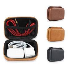 Box Storage-Bag Earphone Hard-Pouch Data-Cable Cover-Protector Mini Organizer USB Zipper