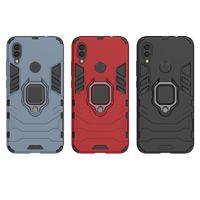 Für Xiaomi Redmi Hinweis 7 6 Pro 4 4X 5 Plus Pocophone F1 Mi 9 8 Lite SE 5X 6X a1 A2 Spielen MAX 3 Finger Ring Halter Telefon Fall Abdeckung