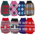 Свитер для собаки  вязаный свитер для питомца  разные цвета  размеры XS -XXL