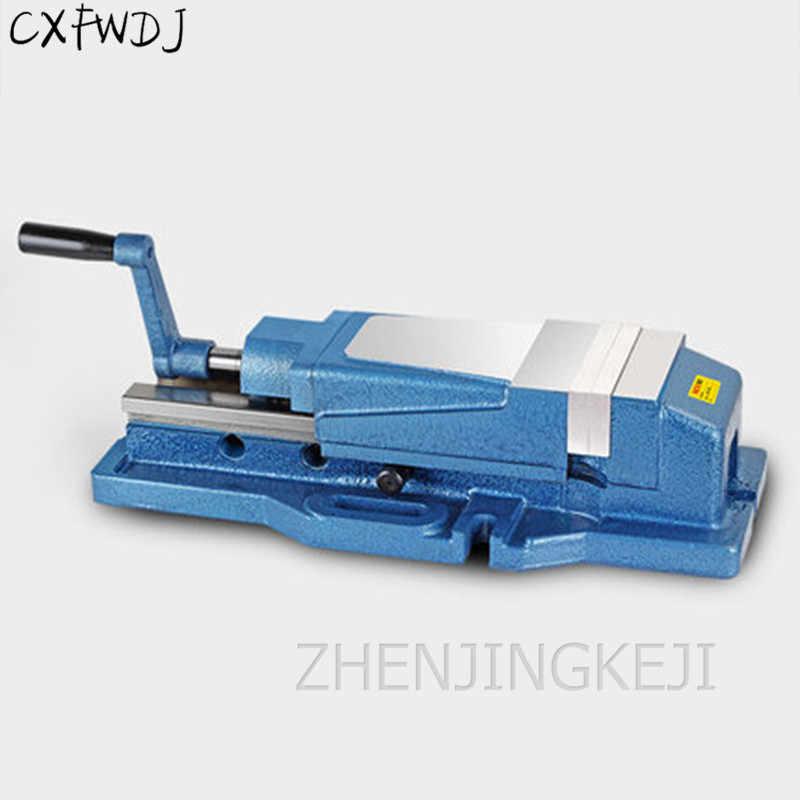 NHV-130A плоский верстак тиски 5 дюймов 6 дюймов Встроенный точный гидравлический тиски NHV станок обрабатывающий центр