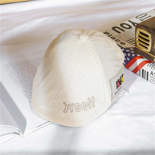 Fashion Baby Hat Handsome Cotton Linen Baby Boy Beret Cap Children Hat Infant Toddler Sun Caps Baby Accessories For 0-2 Years
