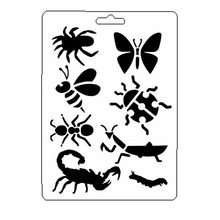 Insect Animal Stencil Reusable Scrapbooking Stamping Embossing Paper Card Drawing Template Decor Crafts Bullet Journal Stencil butterfly reusable stencil for scrapbooking stamping embossing paper card drawing template stencil crafts bullet journal stencil
