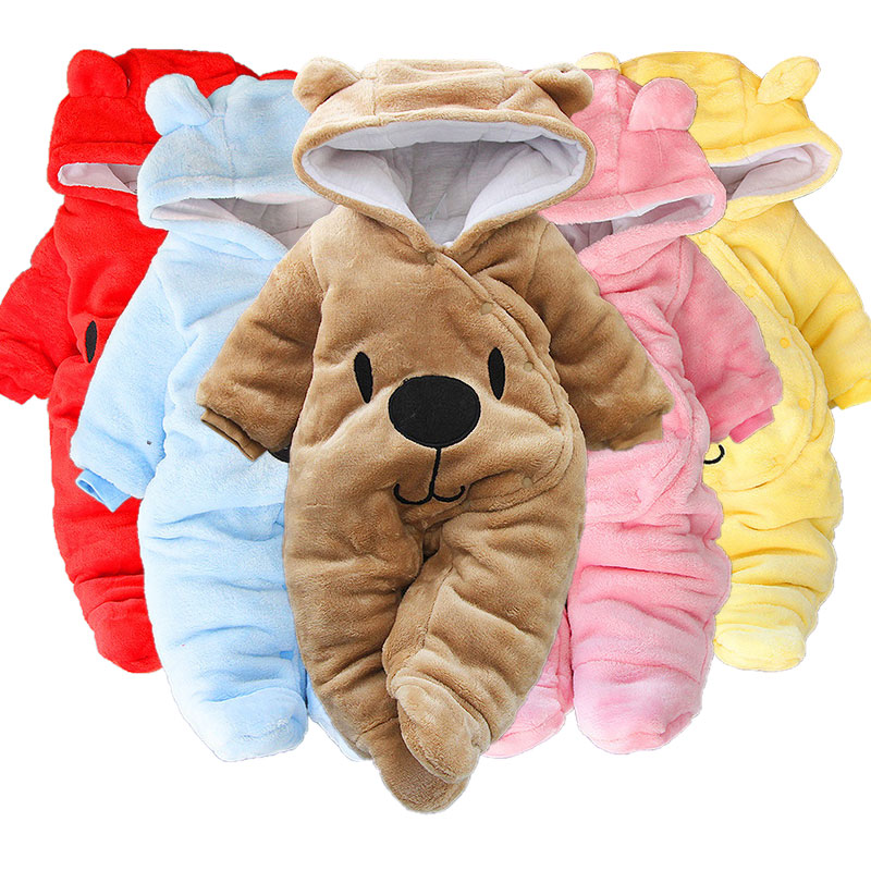 Baby Girls Boy Clothes Newborn Baby Clothes Baby Rompers Cute Infant New Born Winter Clothing