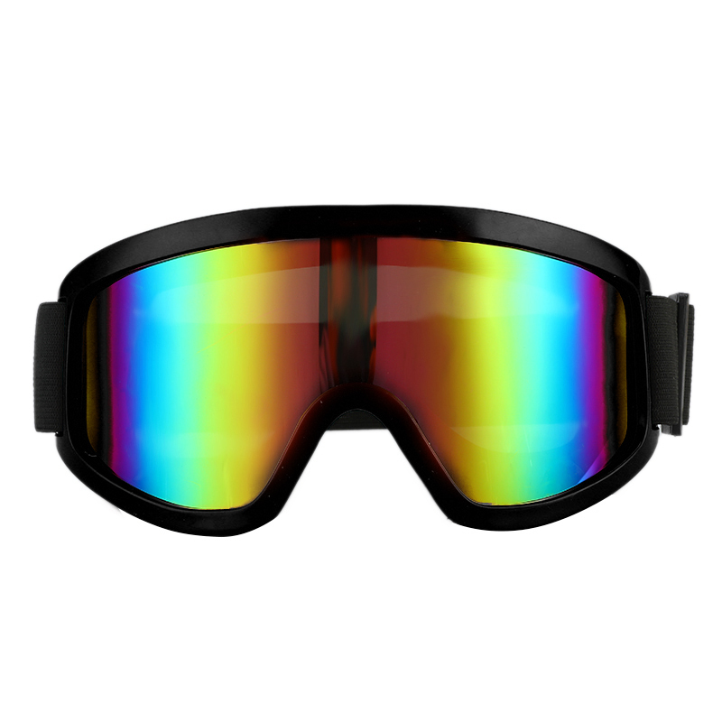 Outdoor Ski Goggles Snowboard With Anti-fog Lens Anti-UV Safety Windproof Welding Glasses For Winter Snow Sports