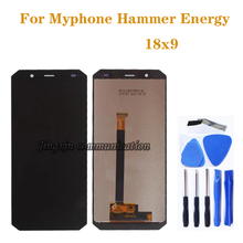 5.7 original 18:9 LCD for Myphone Hammer Energy 18x9 18*9 display + touch screen digitizer assembly repair parts