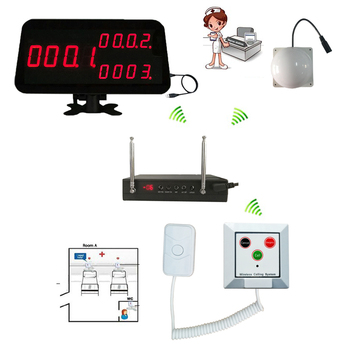 Emergency Call Button Nurse Call Buzzer Hospital Wireless Nurse Call System Patient Call Transmitter Lengthened Cable