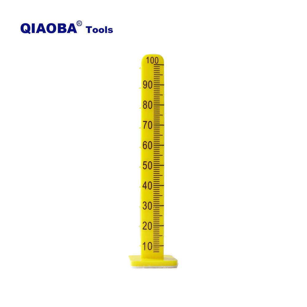 100mm Yellow Floor Leveling  Pegs For Cement Measure Poured Self Leveling Pins 50 Pack