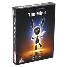 2021 novo o jogo de cartas da mente jogo de tabuleiro de quebra-cabeça da equipe experiência jogo interativo