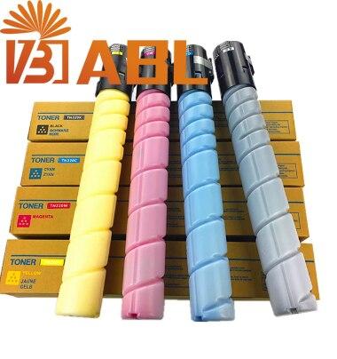 1set compatible TN321 cartouche de toner Pour Konica minolta bizhub C224 C284 C364 C224e C284e C364e C227 C287 4 pièces/ensemble