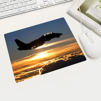 Various Aircraft Wallpaper Rubber Mouse Pad Russian Free Shipping Gamin Player Laptop Tablet Office Computer Mouse Pads Game image