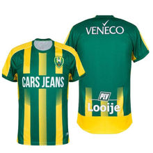 Erkekler 20 21 Ado Den Haag koşu tişörtü 2020 2021 ev yeşil Dante Rigo Morrison Shaquille Pinas Nikolaos Karelis gömlek