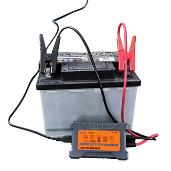 Free sample Automatic 12v 3A AGM GEL EFB car battery charger CAT 900 image