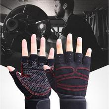 Weight Lifting Gym Gloves with Anti-Slip Palm for Crossfit Workout Exercise Training Fitness and Bodybuilding for Men and Women