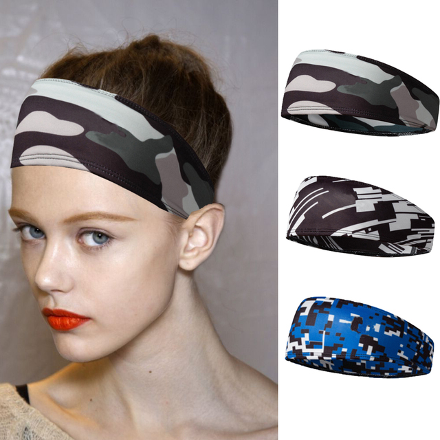 Sports outdoor headband running headband hairband headband sweat guide multifunctional sports antiperspirant belt
