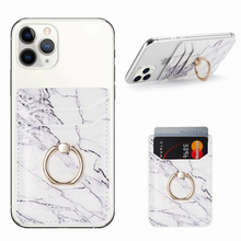 Sticker Card-Holder Phone Marble Note-8t Redmi S20-Plus Samsung S10 Pouch for 11 X S20-plus/Redmi/Note-8t/..