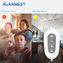 ALARMEST 433Mhz Wireless remote controller for  Alarm System WiFI GSM alarm system free shipping 1 pcs lot new classic wireless metal remote control controller keyfobs keychain 433mhz just for our alarm system