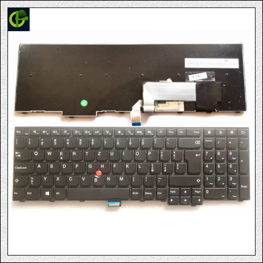 Italian Keyboard for Lenovo THINKPAD MP 12P53US 442W PK130SK2A00 0C44975 44E0GH 44R036 KM BL 105US MP