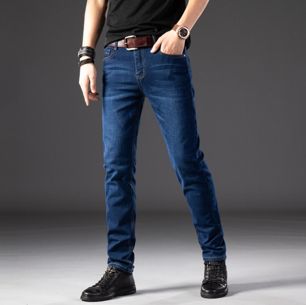 NEW 2020 Season New Men's Long Casual Jeans Summer Comfortable And Breathable KF21801-22