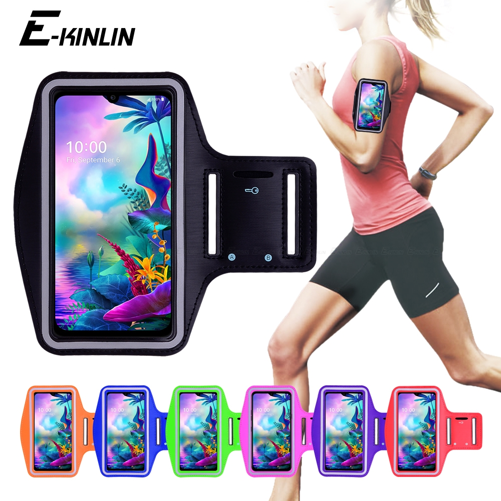 Running Jogging Gym Sports holder Bag Cover Arm Band Phone <font><b>Case</b></font> For <font><b>LG</b></font> G8 G8S G8X G7 G6 ThinQ Plus G5 SE <font><b>G4C</b></font> G4 Beat Stylus One image