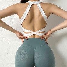 Women Sports Bra Sexy Mesh Breathable Yoga Top Push Up Female Gym Fitness Sportwear Female Seamless Underwear Running Vest Cloth