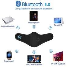 Bluetooth беспроводная маска Портативный Bluetooth 5,0 музыка маска наушников С микрофоном Usb зарядки моющиеся модные гарнитура Bluetooth