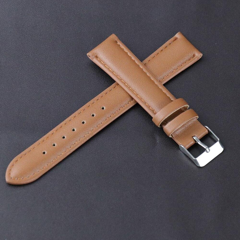 Купить лидер продаж кожаный ремешок цвета хаки для часов из мягкого