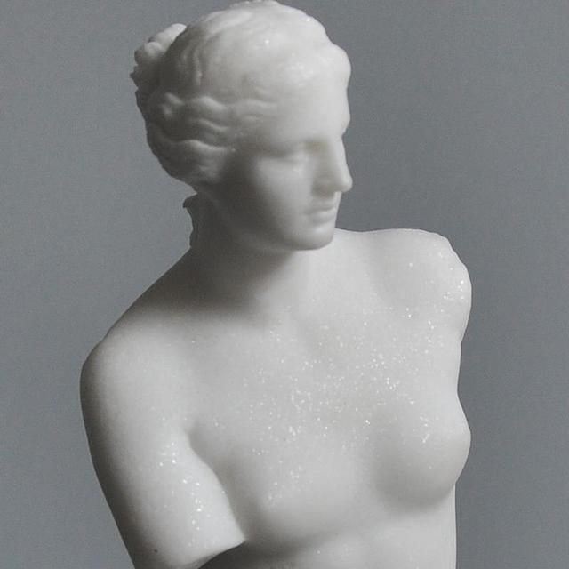 сломанная рука статуэтка венеры 3d сканирования повторно восстановленное фотография