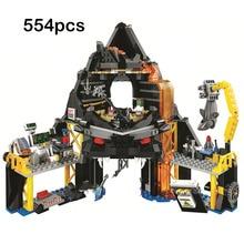 2019 New Garmadons Volcano Lair Blocks Toy Compatible Legoinger Ninjagoes 70631 Building Toys for Children Birthday Gift