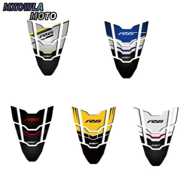 $ 13.32 3D Motorcycle Tank Pad Protector Case for Yamaha R6 YZF-R6 1998-2018  Decal Stickers 2009 2010 2015 2017