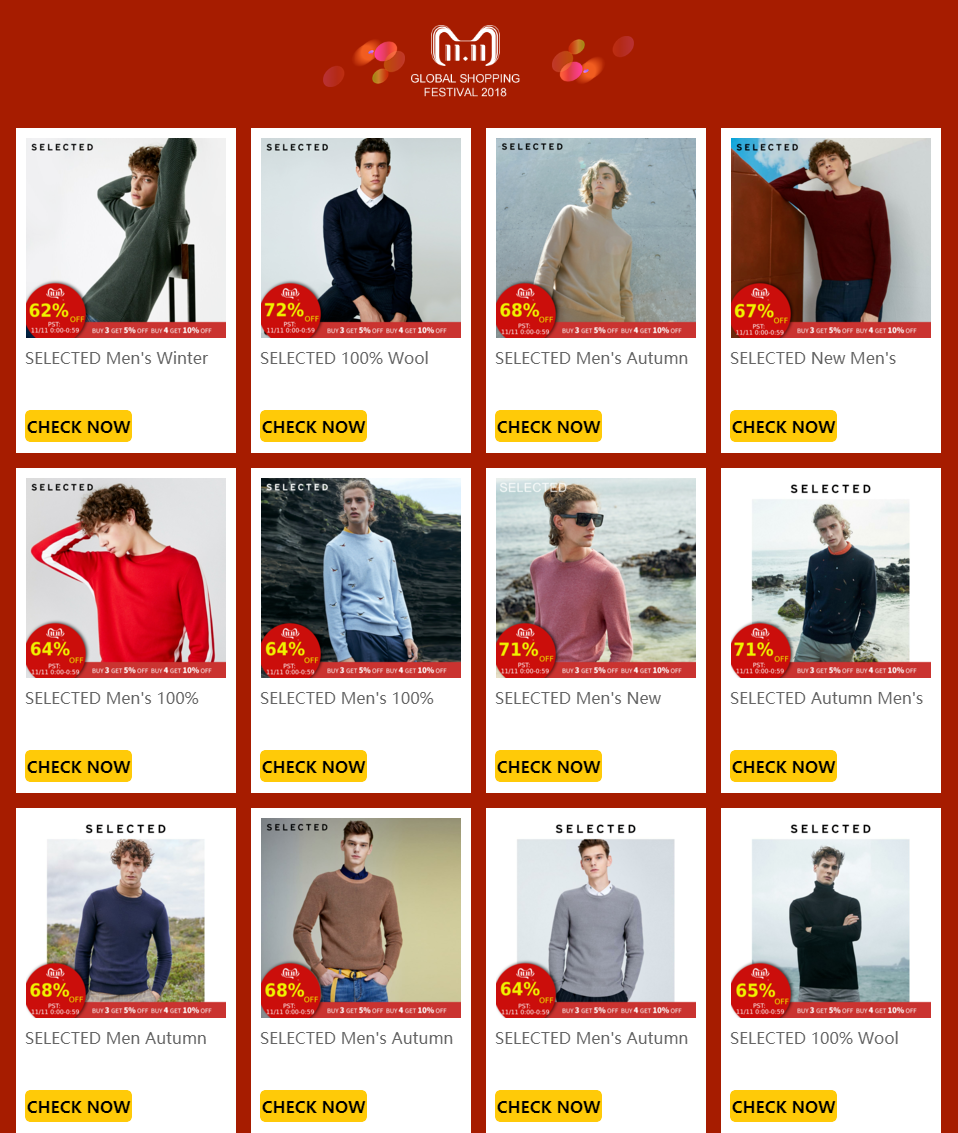 SELECTED 100% Wool Sweater Italian Merino V Collar Knit Clothes Men's Lightweight Knitwear Pullovers S | 418424501 15