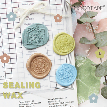 moodtape wood wax Spring summer autumn winter  stamp for DIY Gift / Invitation  album Decorative stamp marigold metal stamp seal vintage skull cross sword caribbean pirate picture letter wedding invitation wax seal stamp sticks melting spoon gift box set
