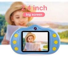 Kids Mini Camera 2.4 inch Screen 18MP Dual Lens Cartoon Digital