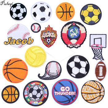 Pulaqi piłka nożna łatka naszywka haftowane naszywki na odzież DIY PFC CSKA moskwa klub piłkarski odznaki dodatki do odzieży H tanie i dobre opinie As picture show Football Patch Iron-on Plastry HANDMADE Ekologiczne Embroidered Patches For Clothes Iron On Sew-On Stick-On