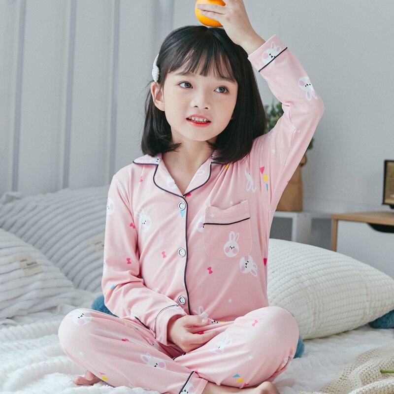 Crianças pijamas 2020 primavera meninas meninos pijamas