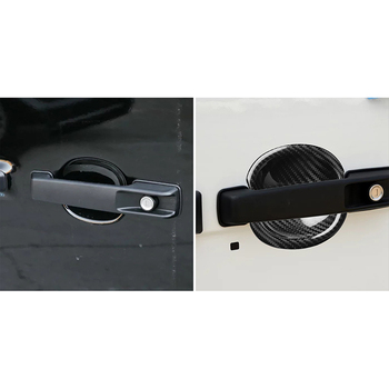 Handle Door Bowl trim Sticker Decor For Mercedes-Benz G G500 W463 Double-Sided Tape 1 Pair