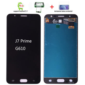 ORIGINAL 5.5'' IPS HD LCD for SAMSUNG Galaxy J7 Prime Display G610 G610F Touch Screen Digitizer Display J7 Prime Replacement